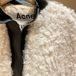 ACNE - Acne Studios TEDDYファーコート