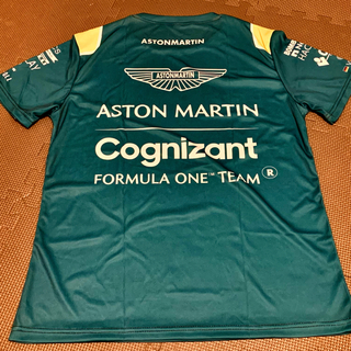 アストンマーチン コグニザント F1 チーム スポンサー レプリカTシャツ L