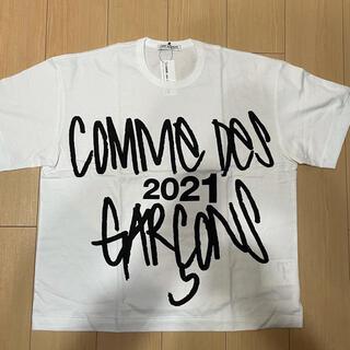 COMME des GARCONS - 21aw路面店限定 オーバーサイズビッグシルエットT白 新品未使用