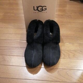 アグ(UGG)の新品 UGG ショートブーツ黒 24センチ 箱あり(ブーツ)
