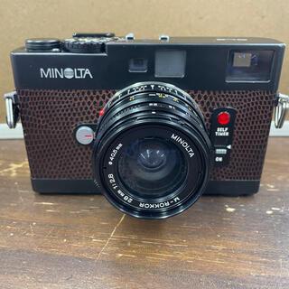ミノルタ CLE+M-ROKKOR 28mmF2.8