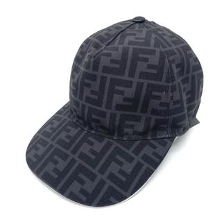 フェンディ(FENDI)のフェンディ FXQ768 ズッカ FF ファッション小物 帽子 キャップ(その他)