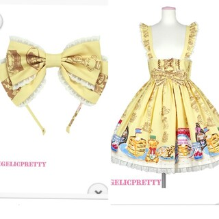 Angelic Pretty - Angelic Pretty Honey Cake Cafeスカート カチューシ