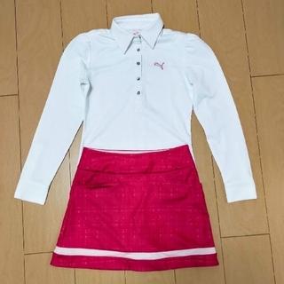 PUMA - ゴルフ レディース ポロシャツ Sサイズ 長袖
