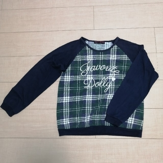 子供服 女の子 160 長袖 ロングTシャツ