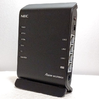 NEC - Wi-Fiルーター Aterm PA-WG1200HS4(NE)