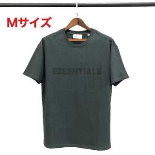 FEAR OF GOD - essentials ロゴ Tシャツ ブラック Mサイズ FOG
