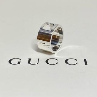 Gucci - GUCCI グッチ カットアウトG ワイドリング SV925