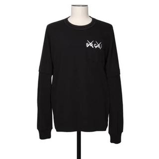 sacai - sacai × kaws Embroidery Long Sleeve T 3
