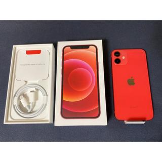 iPhone - ■新品未使用 iPhone 12 mini レッド 64 GB SIMフリー