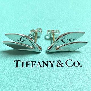 Tiffany & Co. - 【希少】ティファニー ホエールテイル ピアス 925 750
