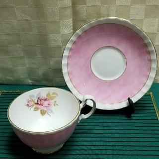 エインズレイ(Aynsley China)のエインズレイ★カップ&ソーサー★ファインボーンチャイナ(食器)