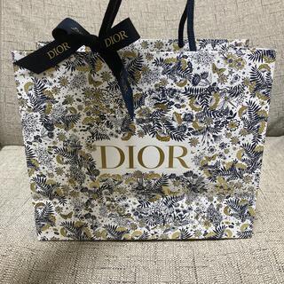 クリスチャンディオール(Christian Dior)のディオール ショップ袋 限定 クリスマスコフレ Dior(ショップ袋)
