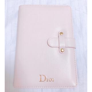 Dior - dior  ノベルティー ノート ピンク
