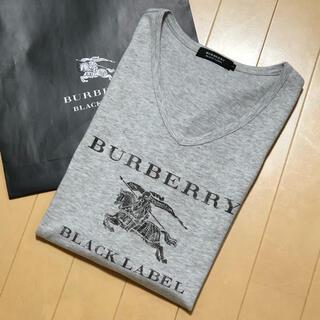 BURBERRY - ☆一回着用【日本製】バーバリーブラックレーベル Tシャツ3