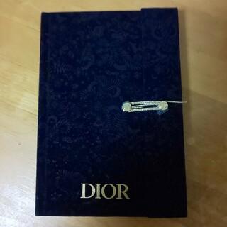 ディオール(Dior)の値下げしました‼️Dior ノベルティノート18x12.5x1.5(ノート/メモ帳/ふせん)