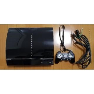 PlayStation3 - 動作良好 PS3 初期型 本体 CECHA00 最上位機種[ブラック]