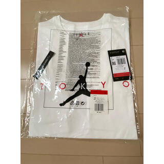 アナスイ(ANNA SUI)のNIKE ジョーダン ロゴTシャツ  Lサイズ(Tシャツ/カットソー(半袖/袖なし))