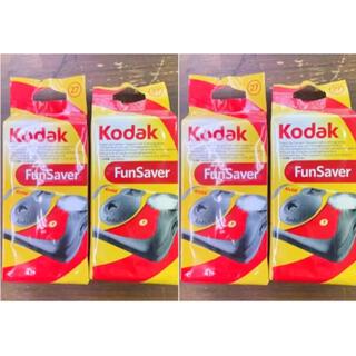 Kodak 使い捨てカメラ FunSaver 27枚撮り  4個セット(フィルムカメラ)