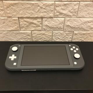 任天堂 - Nintendo Switch Lite グレー グリップ ガラスフィルム付き