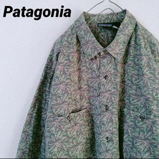 patagonia - パタゴニア リーフカモフラ柄シャツ オーバーサイズ XL size メンズ
