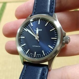 シン(SINN)のジン sinn 556.I.B 機械式 ジン オーバーホール済(腕時計(アナログ))