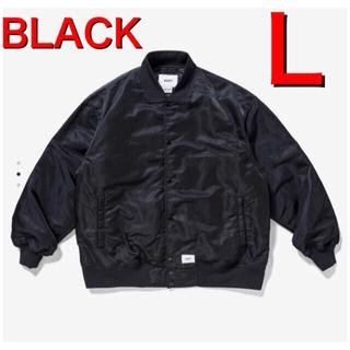 W)taps - 21FW WTAPS TEAM NYLON JACKET BLACK Lサイズ