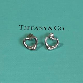 Tiffany & Co. - ティファニー ピアス オープンハート