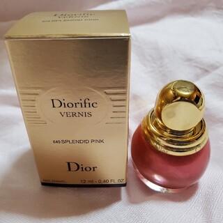 ディオール(Dior)のDiorディオール ヴェルニディオリフィック ネイルエナメル マニキュア649(マニキュア)