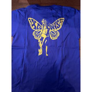 エックスガール(X-girl)のX-girl ヒステリックグラマー コラボ Tシャツ M パープル tee(Tシャツ(半袖/袖なし))
