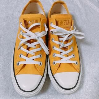 CONVERSE - コンバース ローカットスニーカー 黄色