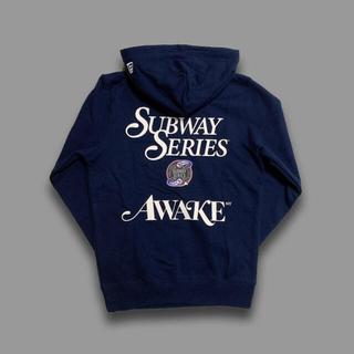 NEW ERA - AWAKE NY × NEW ERA -MLB YANKEES HOODIE M