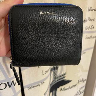 ポールスミス(Paul Smith)のポールスミス ポールスミス コントラストジップ バイカラー ブラック(折り財布)