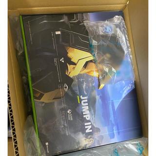 エックスボックス(Xbox)の【新品未開封】Microsoft Xbox Series X 本体(家庭用ゲーム機本体)