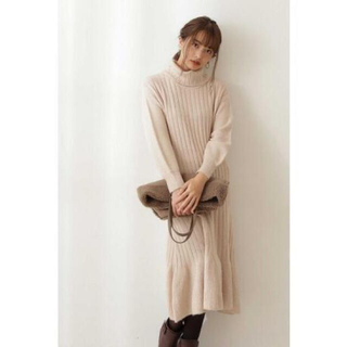 PROPORTION BODY DRESSING - エディットコロン✩Edit cologne☆リラックスマーメイドニットワンピース