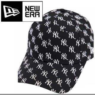 ニューエラー(NEW ERA)のニューエラ ナインフォーティ キャップ ヤンキース ロゴ 帽子 ブラック(キャップ)