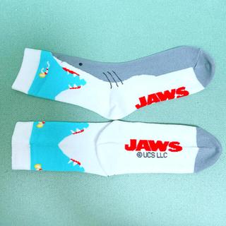 USJ - ユニバーサルスタジオ ジョーズ Jaws サメ 鮫 靴下 ミドル ソックス