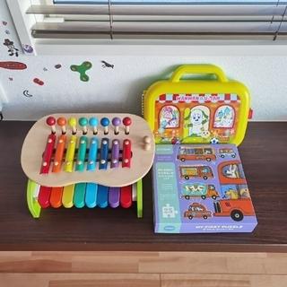 ミキハウス(mikihouse)のmikihouse木製おもちゃセット(1.5歳〜)(知育玩具)