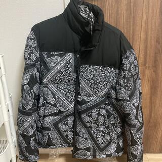 ZARA - Mサイズ ZARA バンダナ柄 中綿パフジャケット ペイズリー