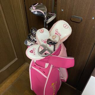 かなり美品 クインシー レディースゴルフセット