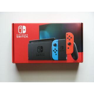 Nintendo Switch - 送料込 Nintendo Switch 本体 ネオンブルーレッド 新型 任天堂