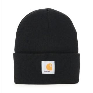 カーハート(carhartt)のcarhartt カーハート ニット帽 新品 ブラック(ニット帽/ビーニー)