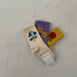 ボボチョース(bobo chose)のMINI RODINI 靴下 ソックス MINIRODINI ミニロディーニ(靴下/タイツ)