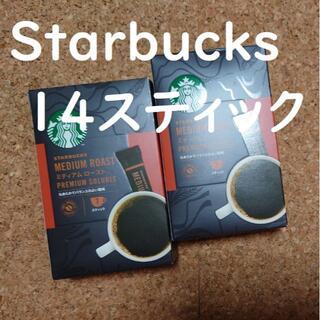 Starbucks Coffee - スターバックススティックコーヒー 2箱14スティック
