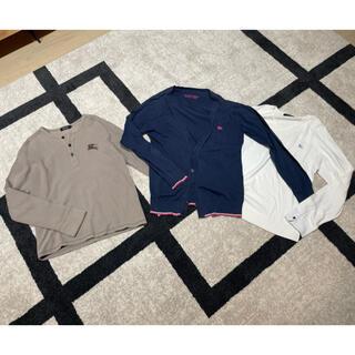 バーバリーブラックレーベル(BURBERRY BLACK LABEL)のバーバリー ブラックレーベル3点セット(Tシャツ/カットソー(七分/長袖))
