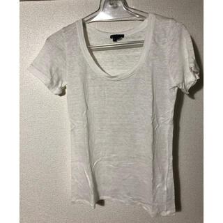 セオリー(theory)のtheory リネンTシャツ(Tシャツ(半袖/袖なし))