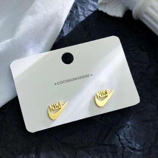 ピアス GOLD   ファッション nike レディース アクセサリー