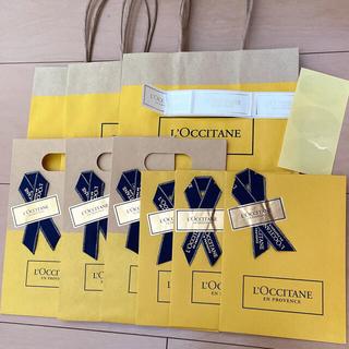 ロクシタン(L'OCCITANE)のロクシタン ショップ袋 紙袋セット(ショップ袋)