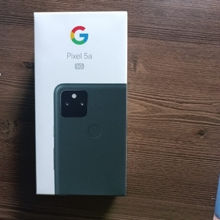 Google Pixel - pixel 5a 5g mostly black128GB SIMロック解除済み