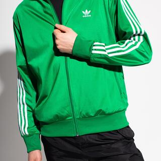 adidas - adidas グリーン カラートラックジャケット M   ジャージ